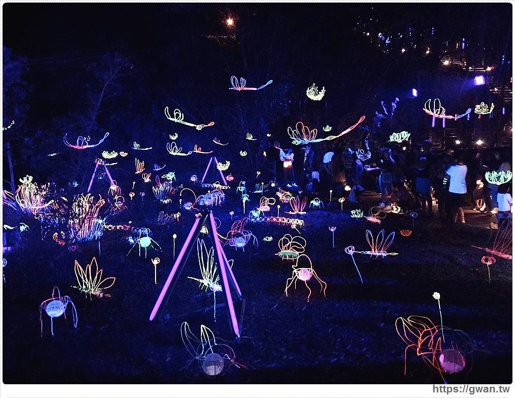 龍崎光節空山祭|台南最美山中燈會,2/9前點亮虎形山公園,還可借光蟲提燈!