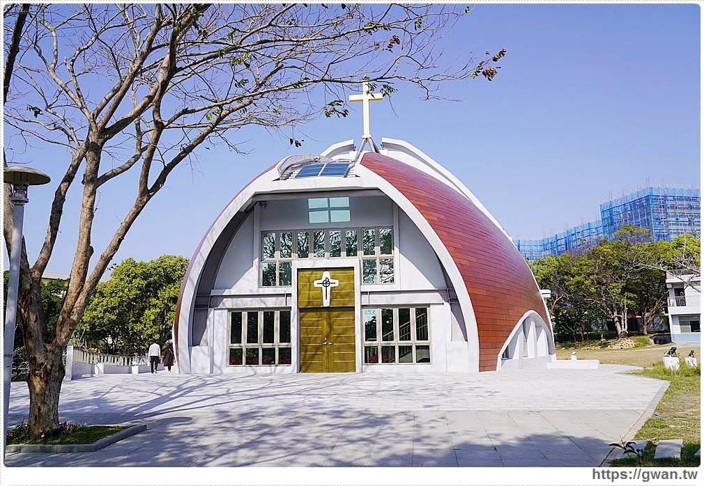 靜宜大學主顧聖母堂 | 藏在靜宜校園中的台中超美教堂,超夯打卡景點台中新地標!