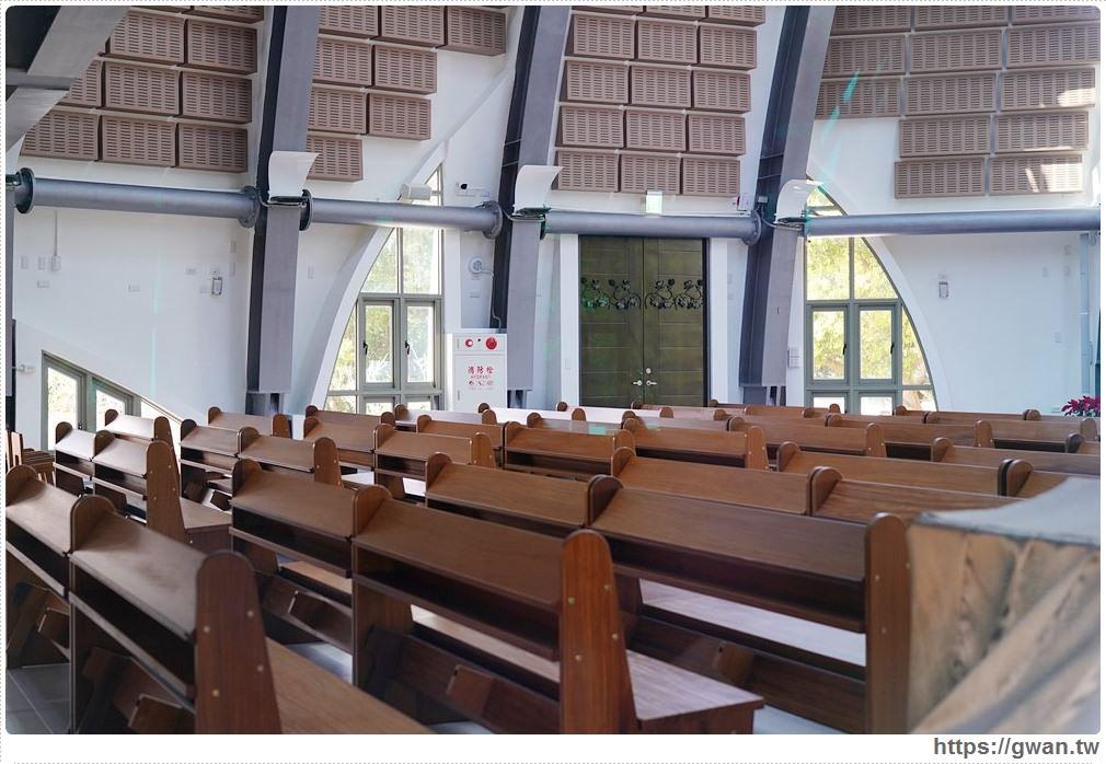 靜宜大學主顧聖母堂 台中打卡景點