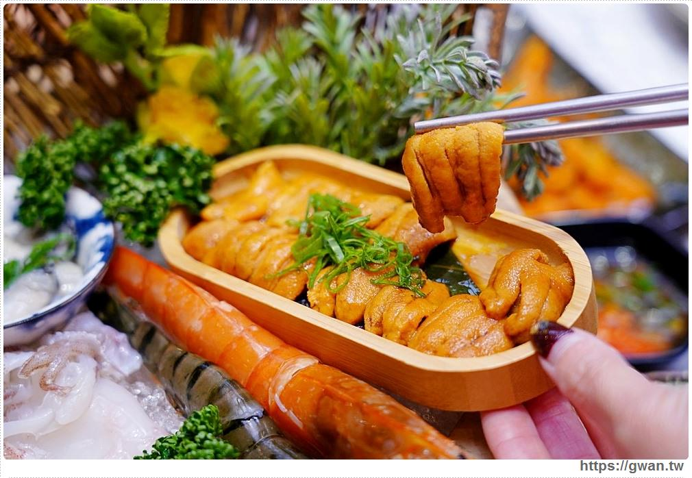 無双精緻鍋物|台中海膽鍋三吃一人獨享,打卡送海鮮,菜盤還可以換肉肉!