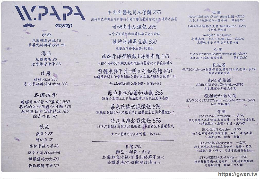 WPAPA早午餐 台中大里餐酒館