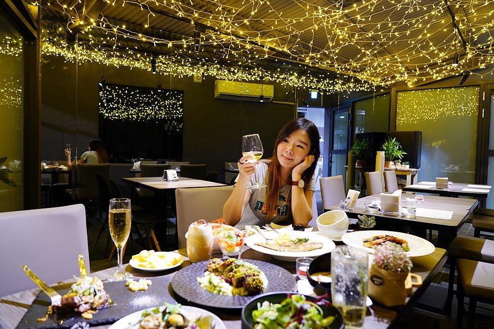WPAPA Bistro | 車庫改造的浪漫餐酒館,開幕一個月在地人才知道,用餐還送香檳!