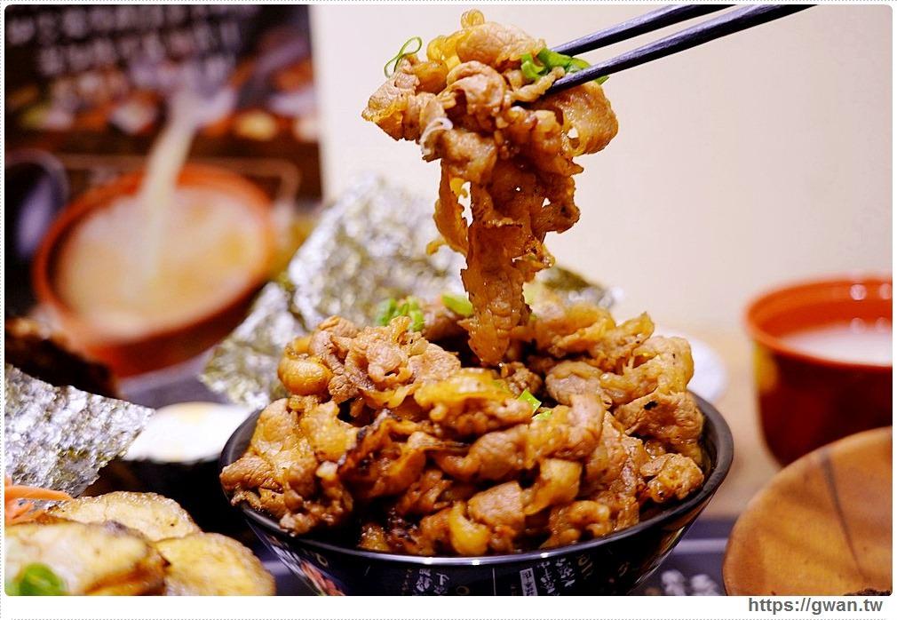 牛丁次郎坊|台中平價燒肉丼,120元就能吃到安格斯黑牛,內用雞白湯與冷飲無限享用!
