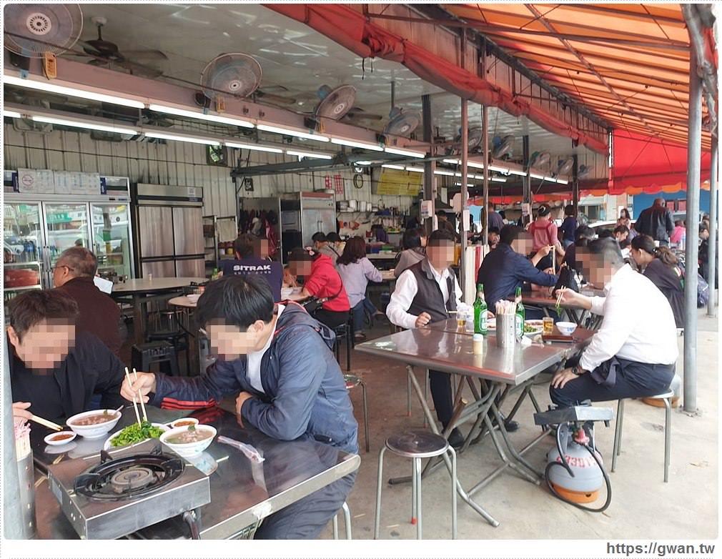 張家晉牛雜 | 台中少見的全牛料理,路邊一攤生意超好,一早就能吃牛肉麵!