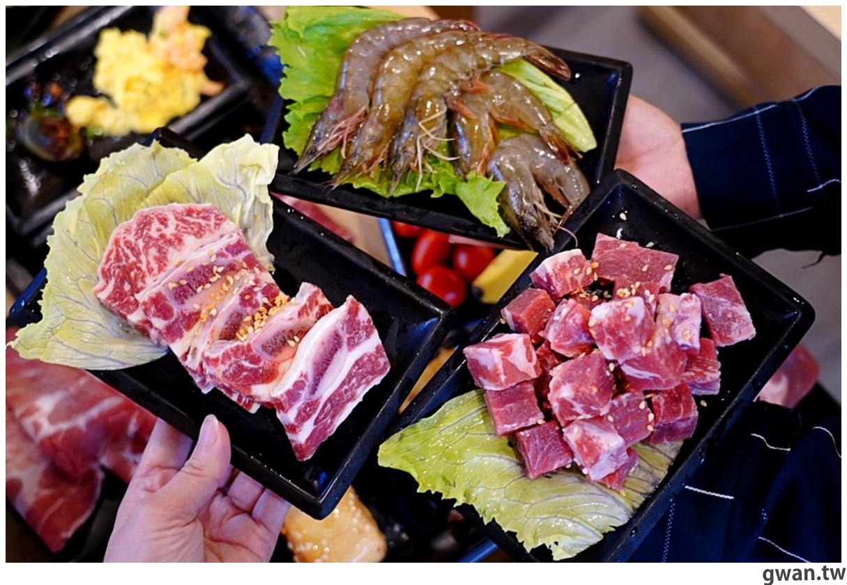20201215213409 38 - 熱血採訪 台中韓式烤肉吃到飽!烤肉、熱湯、小菜任你吃最低只要369元,周年慶期間還免收服務費~