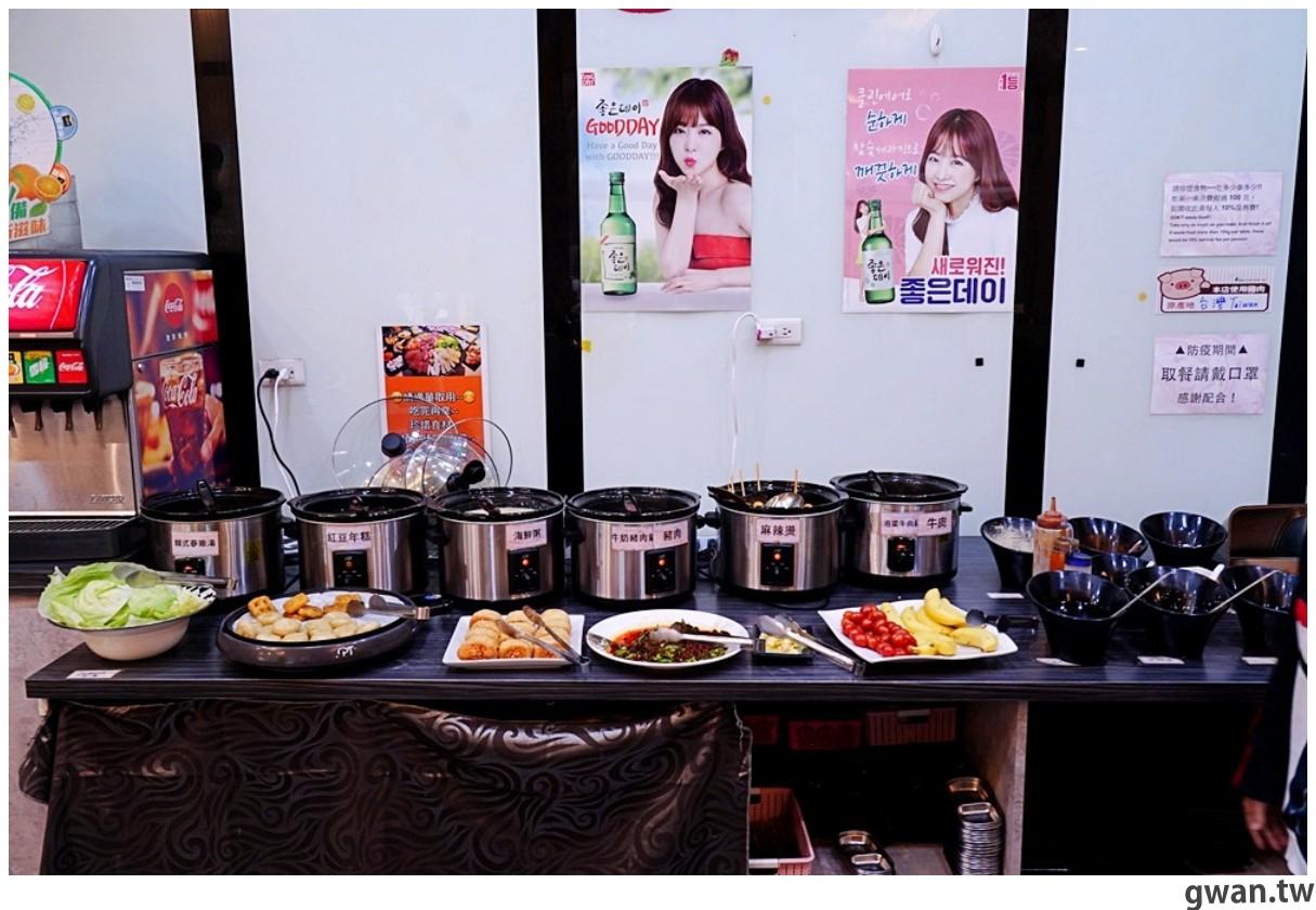 20201215213438 77 - 熱血採訪 台中韓式烤肉吃到飽!烤肉、熱湯、小菜任你吃最低只要369元,周年慶期間還免收服務費~