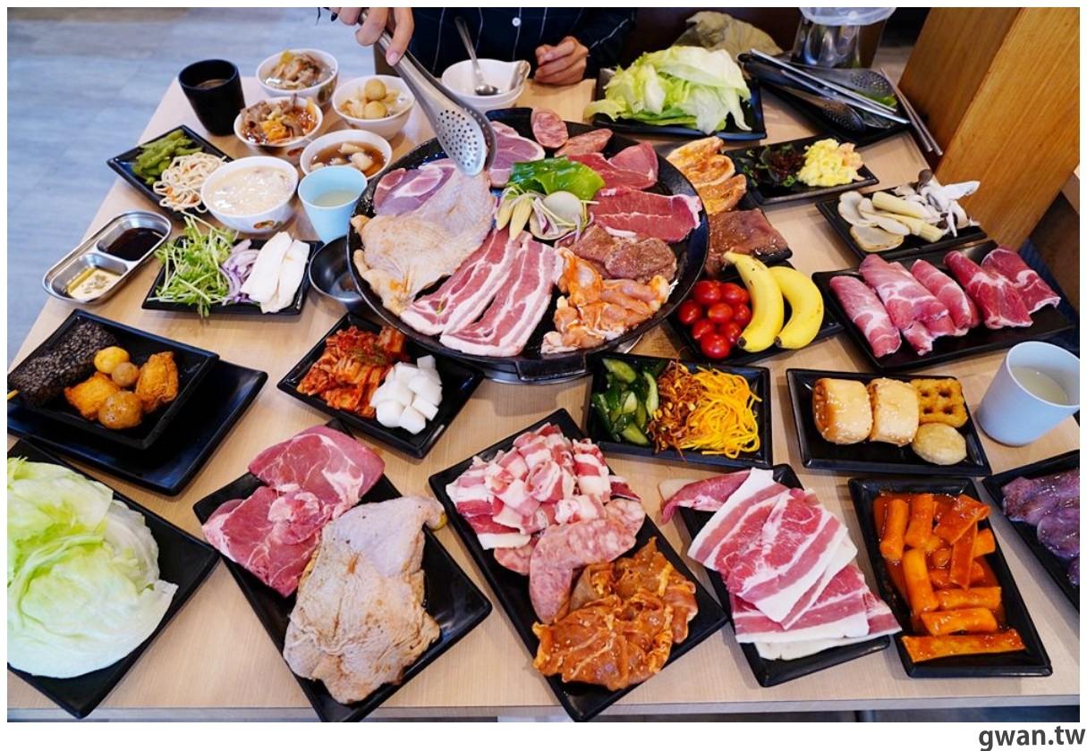 20201215213542 20 - 熱血採訪 台中韓式烤肉吃到飽!烤肉、熱湯、小菜任你吃最低只要369元,周年慶期間還免收服務費~