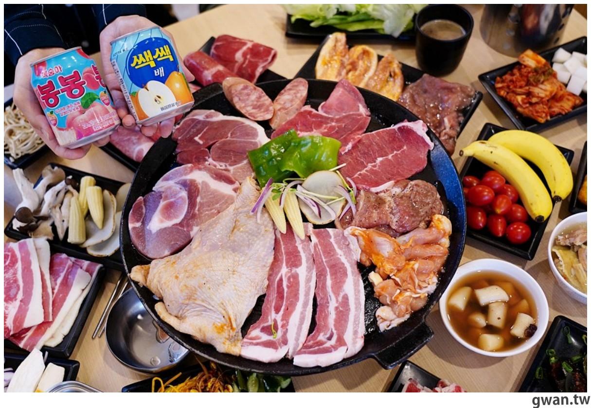 20201215213544 47 - 熱血採訪 台中韓式烤肉吃到飽!烤肉、熱湯、小菜任你吃最低只要369元,周年慶期間還免收服務費~