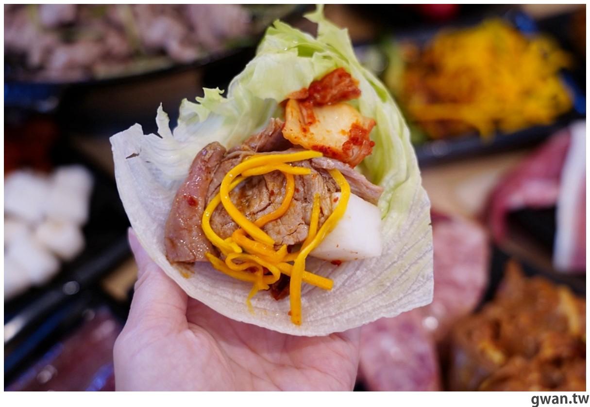 20201215213553 89 - 熱血採訪 台中韓式烤肉吃到飽!烤肉、熱湯、小菜任你吃最低只要369元,周年慶期間還免收服務費~