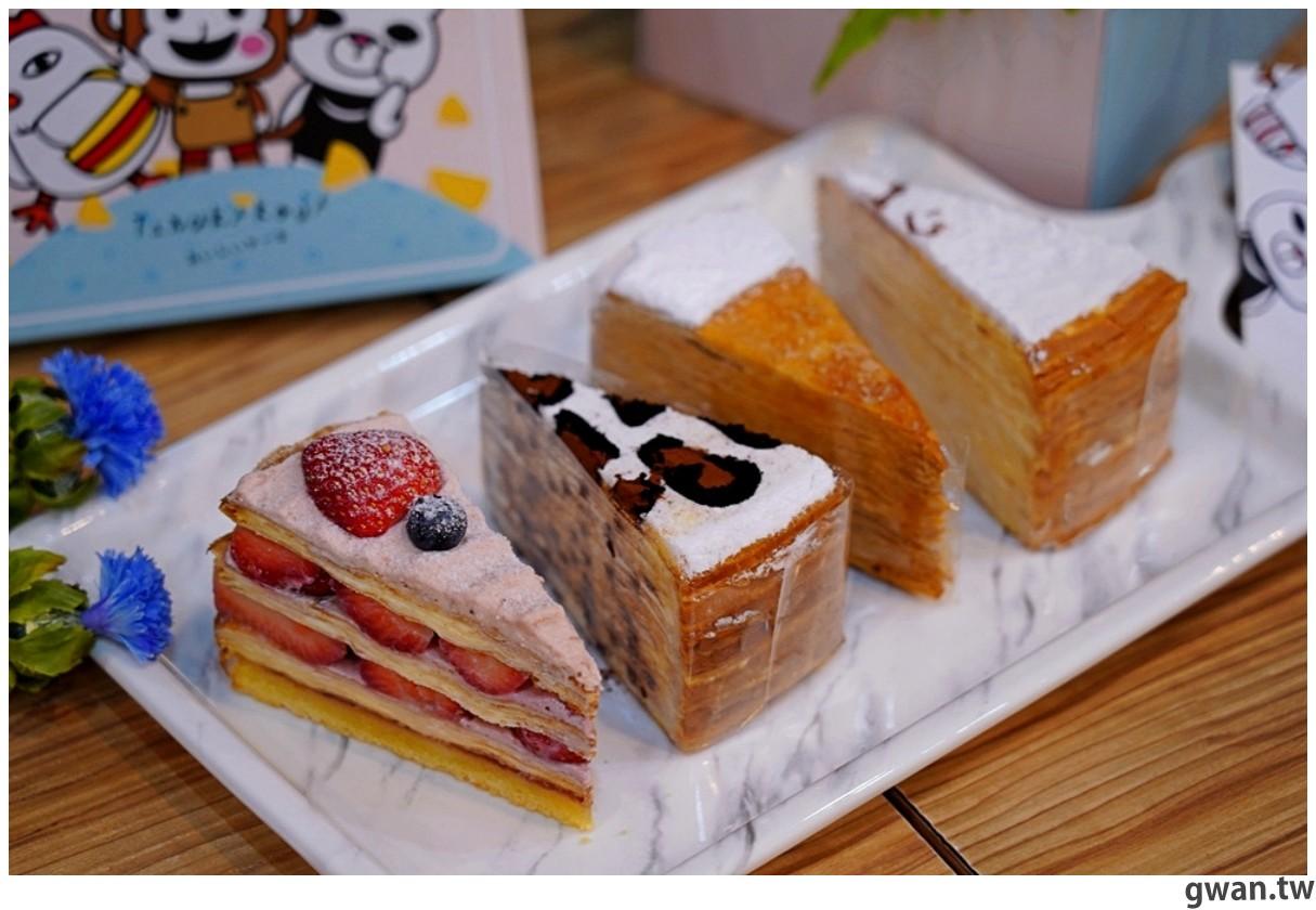 台南人氣狸小路千層來逢甲開店啦!平價千層蛋糕又一間,每月還有限定超值組