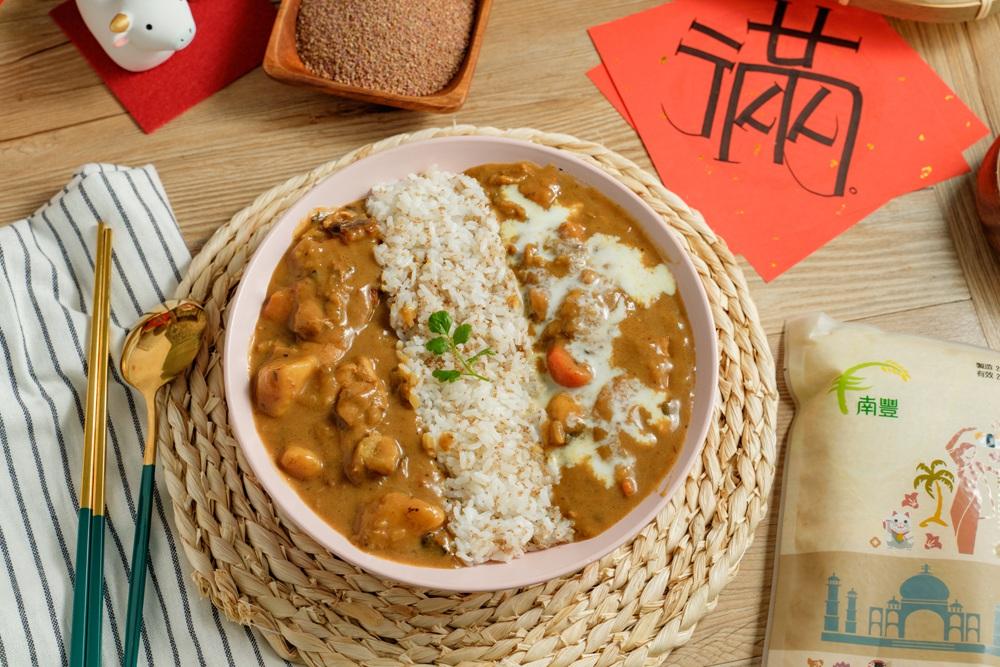 南豐米新春紅馫禮,冷吃Q彈、熱吃Q軟,好米做出好料理!