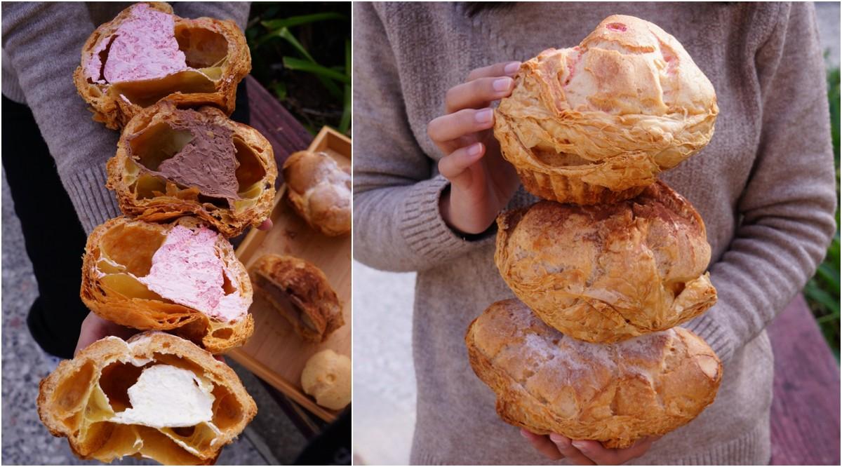 巷子裡的低調麵包店,義興烘焙坊巨無霸泡芙你吃過嗎?
