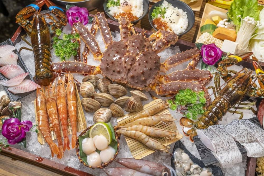 帝王蟹價格大崩盤!台中最便宜的帝王蟹套餐就在菁選涮涮鍋,期間限定只有一個月