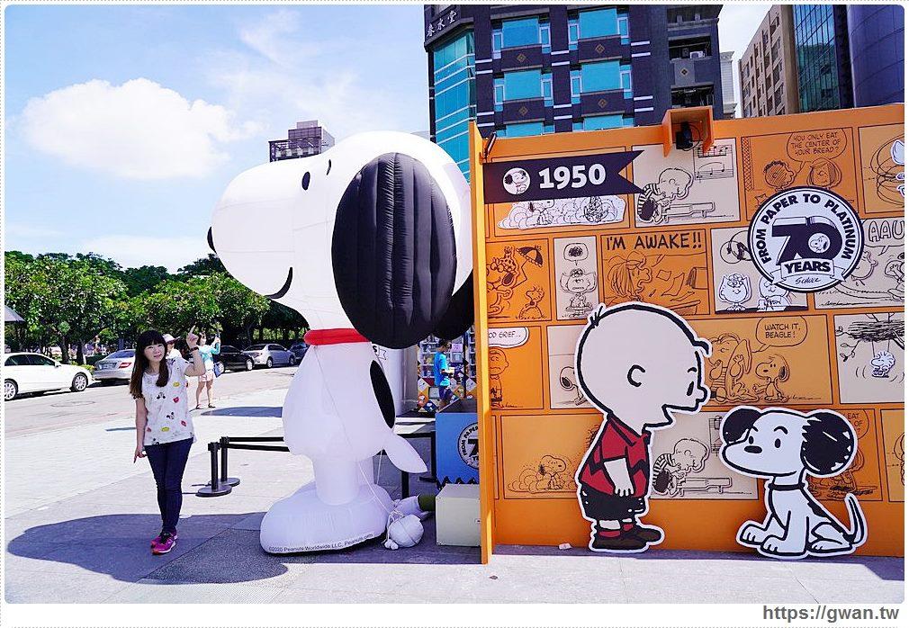 花生漫畫史努比70週年巡迴展台中場開跑囉,還有百變喬巴超人限定店都在台中草悟廣場!