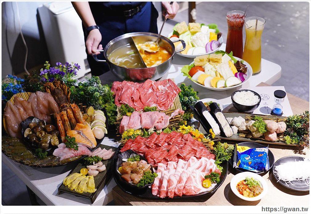 台中深紅火鍋 | 搭配振興券,一人只要300元就能吃到和牛、伊比利豬,再送1000現金券!