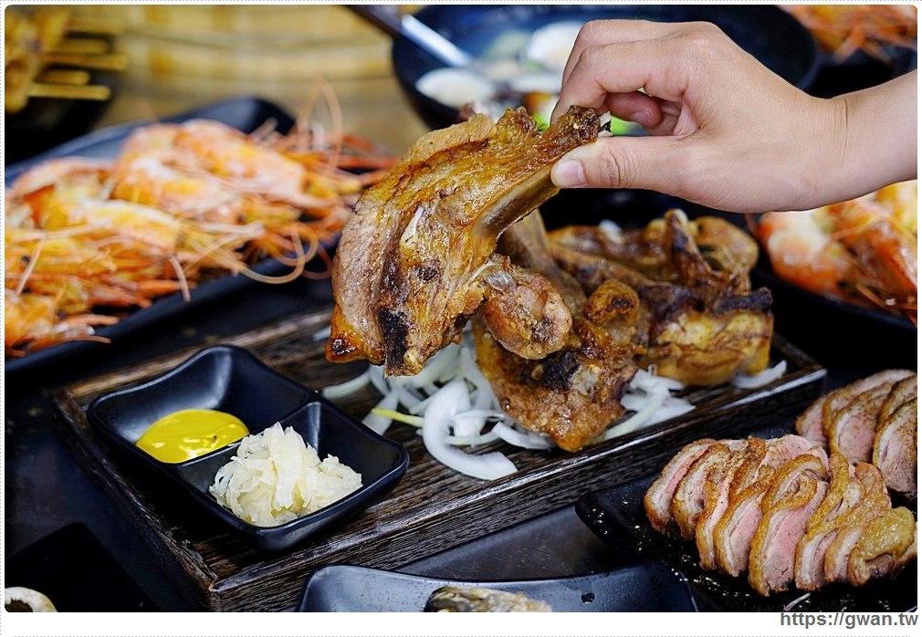 台中燒烤店 鮮蚵吃到飽