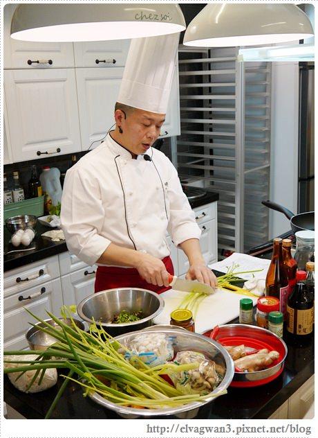 豆油伯廚藝教室-邱寶郎師傅-客家米苔目煎肉餅-13