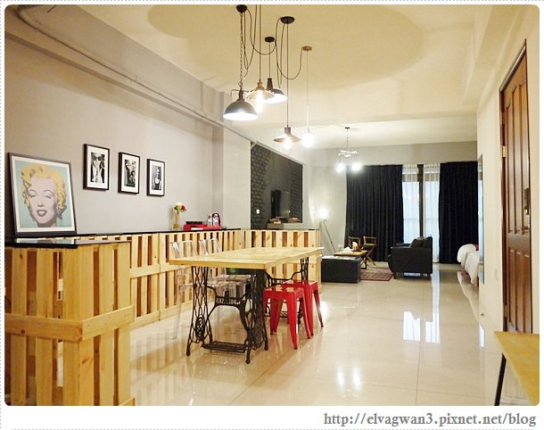[台南住宿●中西區] 靈魂公寓– ☆鬧中取靜的巷弄公寓☆ 超舒適、超寬敞、超優質的工廠女孩四人房 ♥
