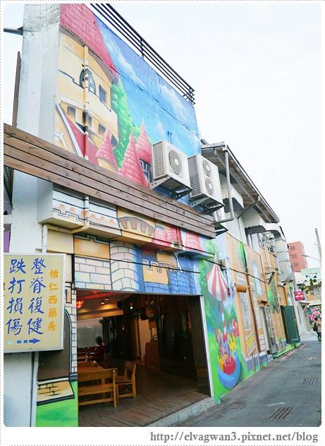 台南-東區-86綠園巷-彩繪-3D壁畫-巷內-遊樂園-18-071-1