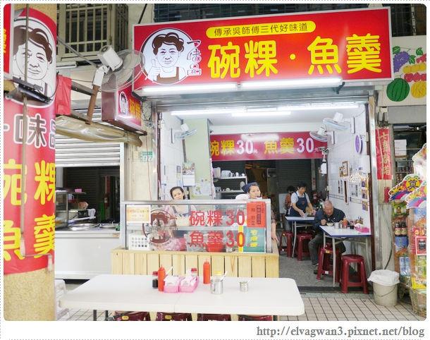 台南-中西區-國華街-一味品-富盛號-黑碗粿-魚羹-火燒蝦-溫體豬肉-老店-三代傳承-市場-2-975-1