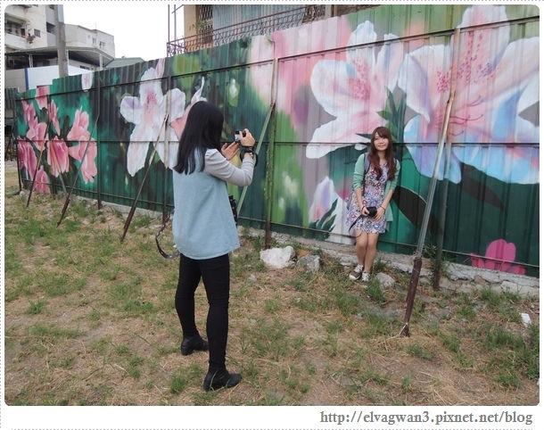 台南-東區-86綠園巷-彩繪-3D壁畫-巷內-遊樂園-17-438-2