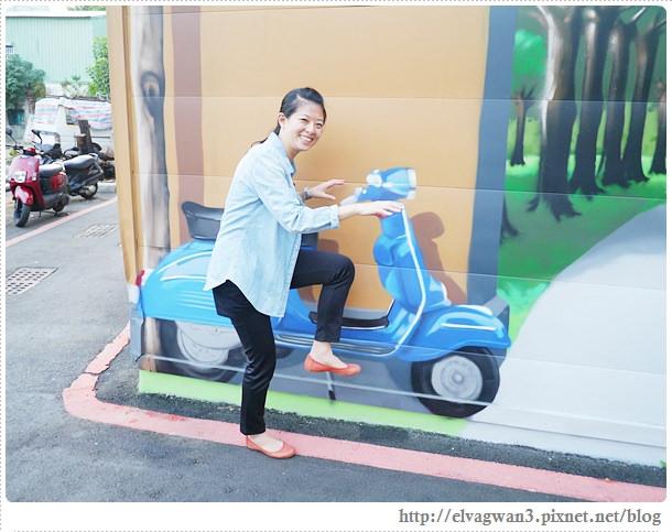 台南-東區-86綠園巷-彩繪-3D壁畫-巷內-遊樂園-13-080-1