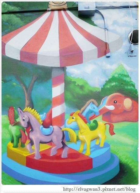 台南-東區-86綠園巷-彩繪-3D壁畫-巷內-遊樂園-2-075-1