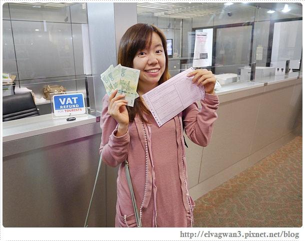 [泰國旅遊●清邁] 教學祕技 — 泰國退稅新制實作退稅流程、出入境表格填寫、申請落地簽注意事項 ☆