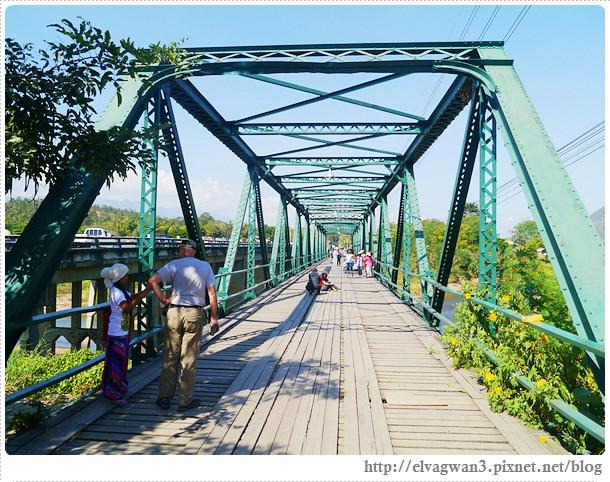泰國-泰北-清邁-The Pai World War II Memorial Bridge-二次世界大戰橋-湄宏順府-pai 拜縣-1095公路-pai river-傑克船長-神鬼奇航-明信片-開新旅行社-開心假期-大興旅遊公司-泰國觀光局-17-496-1