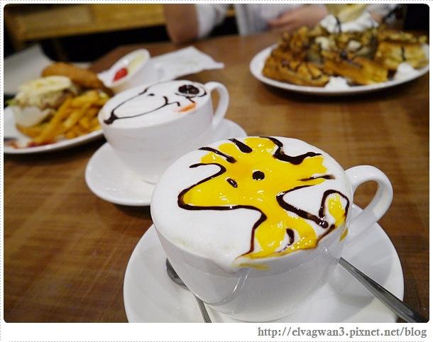 LongTimeAgo Cafe,文創互動咖啡館,極光之愛,電影場景,台北,大安區,捷運敦化站,可愛拉花,史努比,楊丞琳-30-630-1