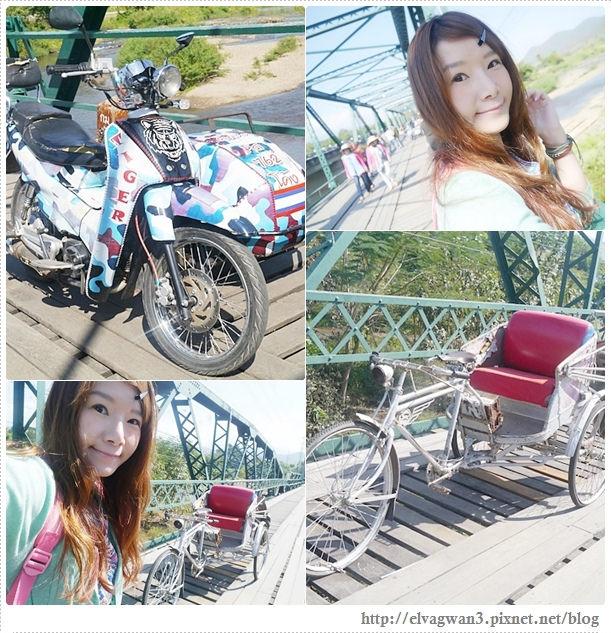 泰國-泰北-清邁-The Pai World War II Memorial Bridge-二次世界大戰橋-湄宏順府-pai 拜縣-1095公路-pai river-傑克船長-神鬼奇航-明信片-開新旅行社-開心假期-大興旅遊公司-泰國觀光局-23