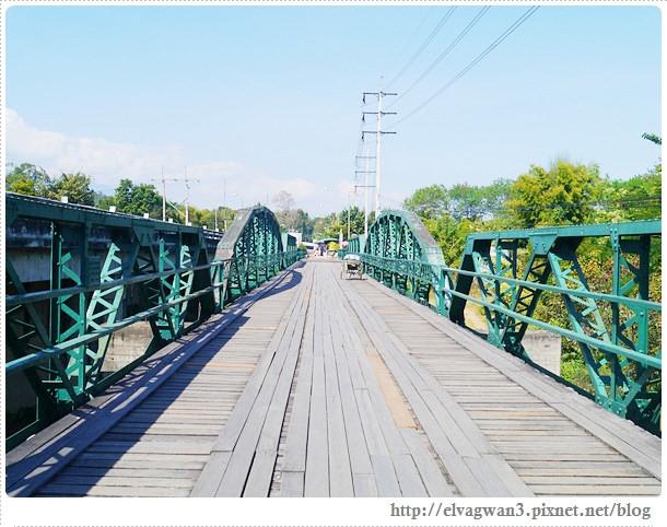 泰國-泰北-清邁-The Pai World War II Memorial Bridge-二次世界大戰橋-湄宏順府-pai 拜縣-1095公路-pai river-傑克船長-神鬼奇航-明信片-開新旅行社-開心假期-大興旅遊公司-泰國觀光局-22-519-1