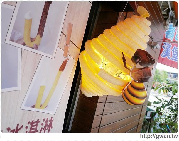 餓魚咬冰,烏雲冰淇淋,蜂巢冰淇淋,拐杖冰淇淋,勾勾冰,台南,安平,創意冰品,夏天吃冰,ice cream-5-520-1