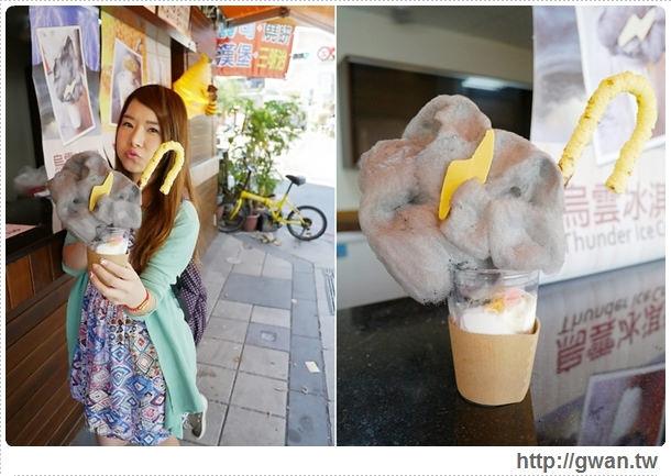 餓魚咬冰,烏雲冰淇淋,蜂巢冰淇淋,拐杖冰淇淋,勾勾冰,台南,安平,創意冰品,夏天吃冰,ice cream-8