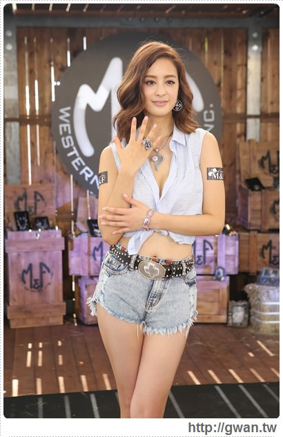 M&F Western,M&F飾品,M&F 登台記者會,M&F台灣,牛仔風,美國牛仔飾品,哇!陳怡君,保羅領帶,巨型藏寶箱-23