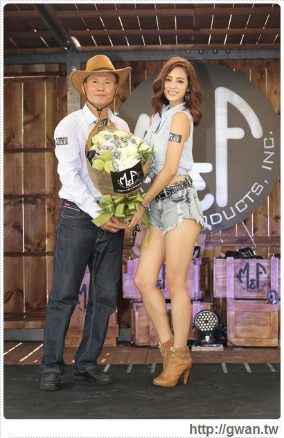 M&F Western,M&F飾品,M&F 登台記者會,M&F台灣,牛仔風,美國牛仔飾品,哇!陳怡君,保羅領帶,巨型藏寶箱-26