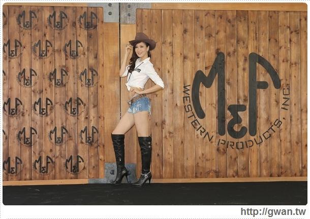 M&F Western,M&F飾品,M&F 登台記者會,M&F台灣,牛仔風,美國牛仔飾品,哇!陳怡君,保羅領帶,巨型藏寶箱-10 (1)