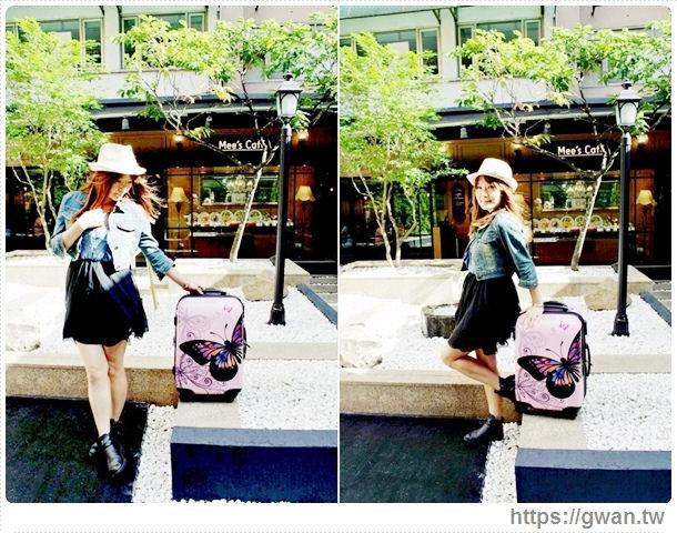 國內旅遊行李箱,3天2夜行李箱,20吋行李箱,便宜好用行李箱,行李箱推薦,彩色花蝶,butterfly,FriDay購物網,愛享客,時間軸-20