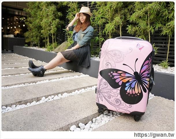 國內旅遊行李箱,3天2夜行李箱,20吋行李箱,便宜好用行李箱,行李箱推薦,彩色花蝶,butterfly,FriDay購物網,愛享客,時間軸-3-050-1