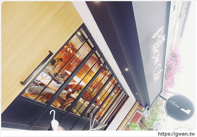 捷運美食,咖啡廳,pillow cafe,枕頭咖啡,巷弄美食,好喝的抹茶,不限時咖啡廳,寵物友善餐廳,開到很晚的咖啡廳,可看到101的餐廳,通化夜市-3-815-1