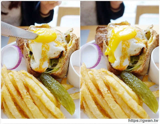 台中美食,精明商圈,P+ House,popover,巷弄美食,早午餐推薦,戰斧豬排,鳥巢蛋,複合式料理,下午茶甜點-28