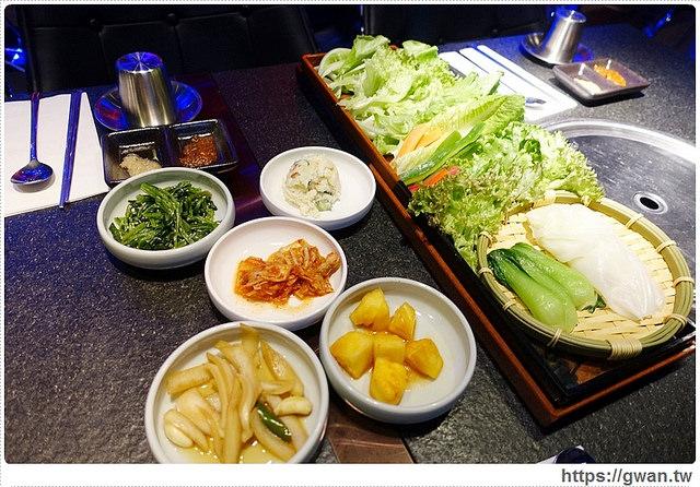捷運美食,清潭洞韓式燒肉,韓式料理,청담동,夜店風,韓流,水耕蔬菜,跨年推薦餐廳-8-459-1