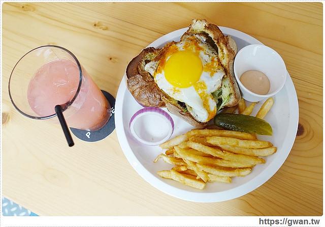 台中美食,精明商圈,P+ House,popover,巷弄美食,早午餐推薦,戰斧豬排,鳥巢蛋,複合式料理,下午茶甜點-25-182-1
