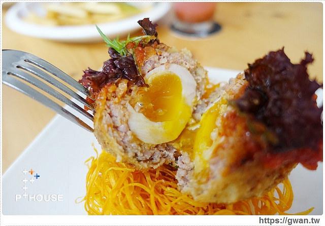 台中美食,精明商圈,P+ House,popover,巷弄美食,早午餐推薦,戰斧豬排,鳥巢蛋,複合式料理,下午茶甜點-44-248-1
