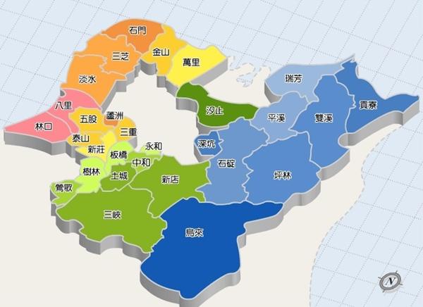 新北市地圖