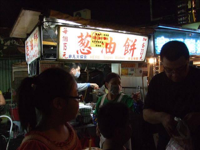 [士林夜市]  郭家蔥油餅 & A-Be 潤餅小棧
