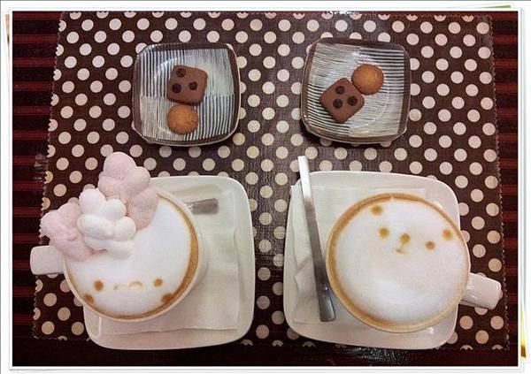 [捷運中山站] 點點咖啡 — 不自覺燃起少女心的可愛小店