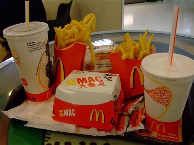 [麥當勞] 超值午餐–勁辣雞腿堡餐