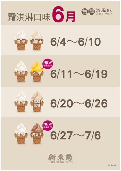 新東陽霜淇淋-DM-6月