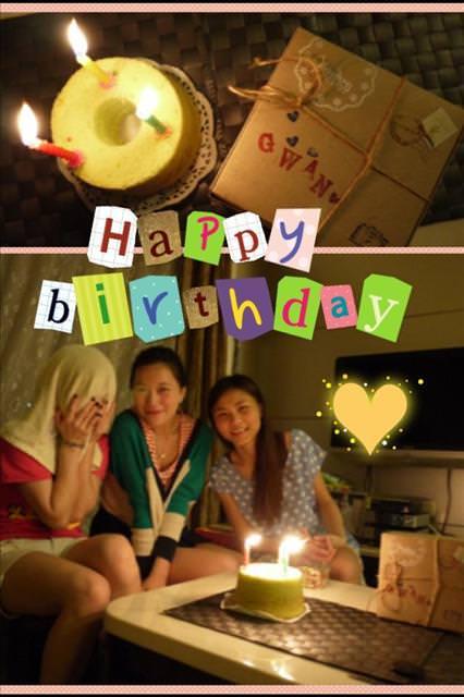 [感謝]  2012 生日滿月感言